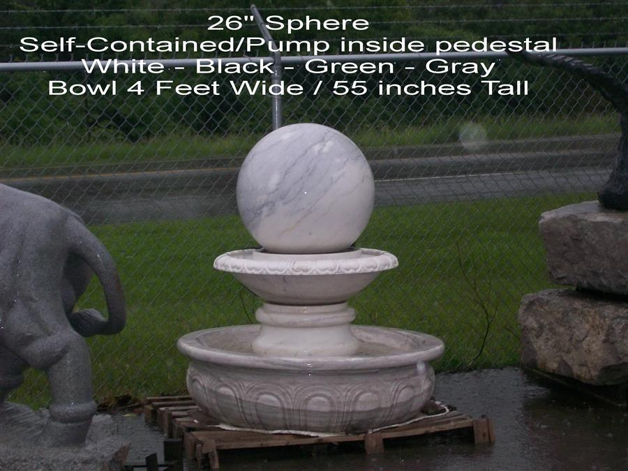 26 Inch Self Contained Fountain - FS26SC
